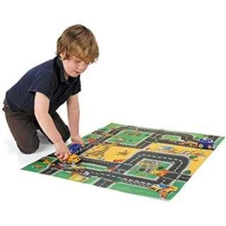 Car Play Mat with Car and road accessories