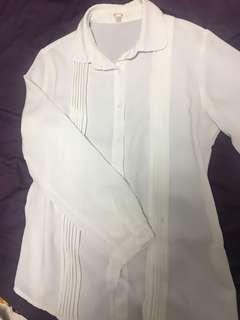 🚚 紡紗長袖襯衫