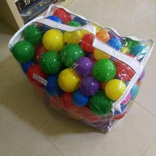 Colorful Balls 100 Pcs