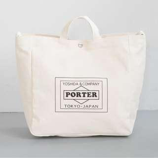porter shoulder tote bag