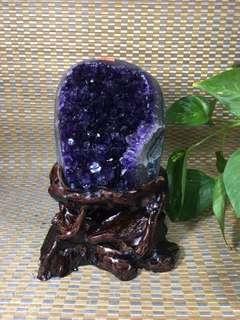 精品烏拉圭紫水晶小擺件,招財旺事業、消磁防輻射、辟邪擋煞、重量2.95kg!秒殺️¥2280不議價手慢無