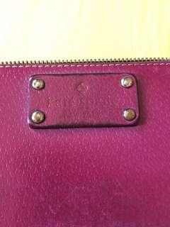 Kate Spade Purple Long Wallet