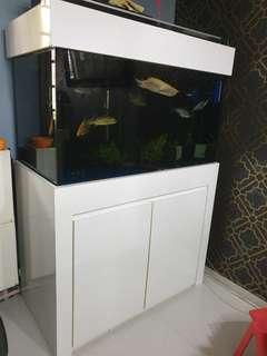 🚚 Aquarium Fish Tank Cabinet