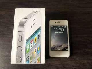 iPhone 4s White 32 gb mulus