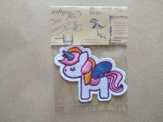 Little Pony Iron On Patches