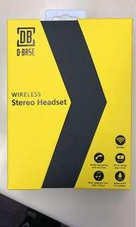 D-Base Wireless Stero Headset