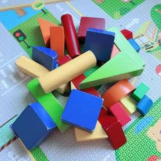 TO BLESS: ELC Wooden Blocks