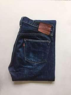 Redcloud r400 17oz slim straight selvage