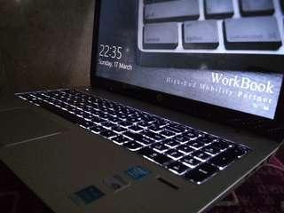 HP Envy TouchSmart 15 WorkBook Edition i7 4700MQ 16GB SSD128GB HDD1TB nVidia 2GB touchscreen gaming rendering