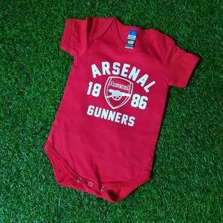 Arsenal Baby Romper