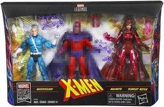 Hasbro Marvel Legends X-Men Classic Scarlet Witch and QuickSilver figures for SALE in advance.