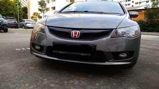 civic 1.8A for rental