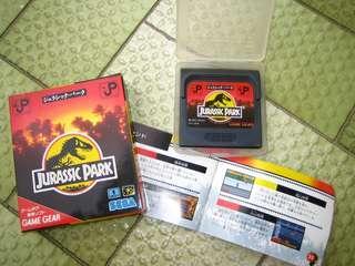 Sega Game Gear : Jurassic Park Original import form japan