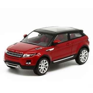 1/43 IXO Range Rover Evoque Fi renze Red Diecast Model