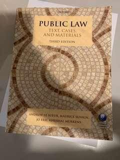 [UOL LLB適用] Oxford Public Law Text, Cases and Material 3rd Edition