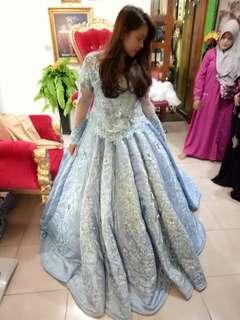Makeup n gaun wedding