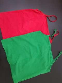 🚚 Women Tops selling at $4.90 free postage  left 1 green & 1 red