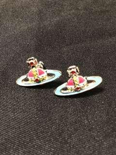 Vivienne Westwood earrings 耳環 (Tiffany blue)