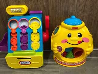 Bundle Sales for Little Tikes Count 'n Play Cash Register Playset & Fisher Price Laugh & Learn Cookie Shape Surprise