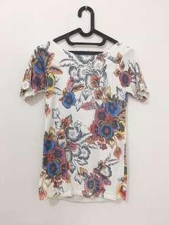Next floral knit top