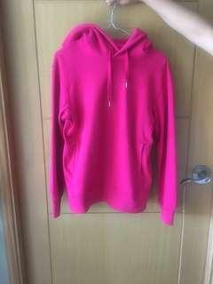 Uniqlo Pink Hoodie Sweater