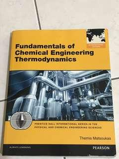 🚚 Fundamentals of chemical Engineering Thermodynamics