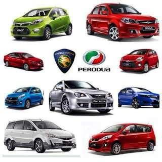 Pajak kereta terpakai Proton, Perodua, Honda, Toyota, Hyundai, Volkswagen, Ford dan lain-lain