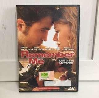 🚚 Remember Me DVD