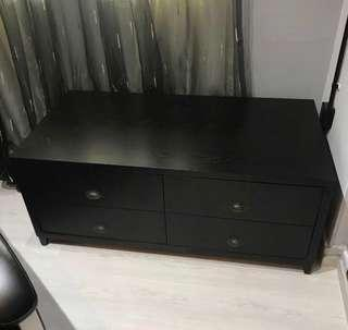 TV Console with 2 Box Drawers