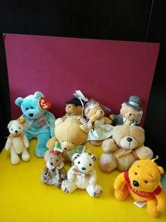 (All for $10) Soft Toys