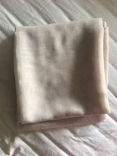 hijab paris jepang scarves scarf warna choco nude