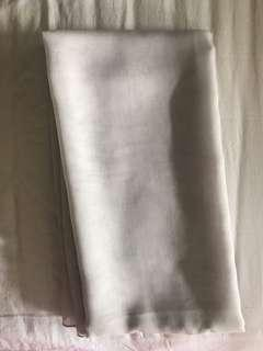 hijab square paris jepang scarves scarf warna broken white