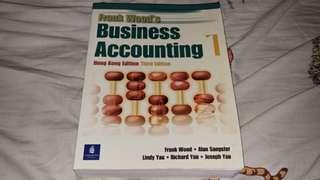 Frank Wood´s Business Accounting 1