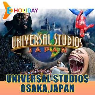 USJ Universal Studios Japan type B  E-Ticket