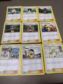 Pokemon Supporter Trainer Card Game TCG