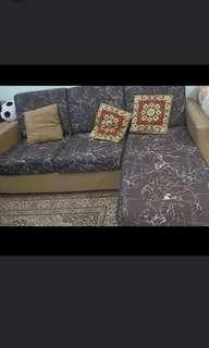 🚚 L Shape Sofa 3 seater