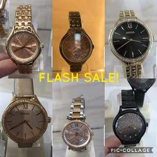 FLASH CLEARANCE OFFER! Fossil Fashion Watch for Women (100% Authentic)