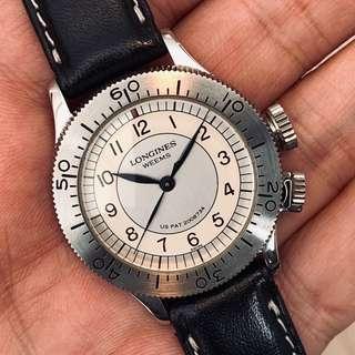 FS: Longines L2.606.4 73 2 Weems Pilot Watch Men's Ltd Edition Full Set