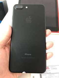 Iphone 7 Plus 32GB MATTLE BLACK (Fauty camera)