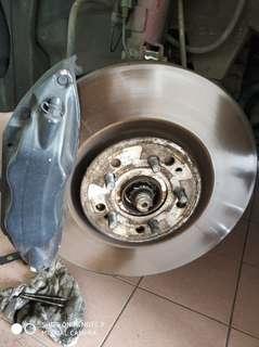 Toyota altis brembo brake
