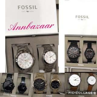 FLASH CLEARANCE OFFER! Fossil Couples Watch (100% Authentic)