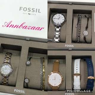 FLASH CLEARANCE OFFER! Fossil Ladies Watch Gift Set (100% Authentic)