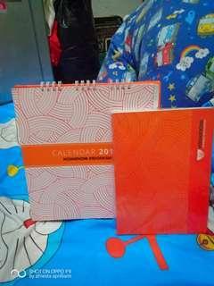 Agenda dan Calender Yoshinoya 2019