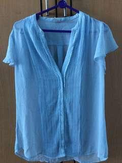 Blue Blouse H&M