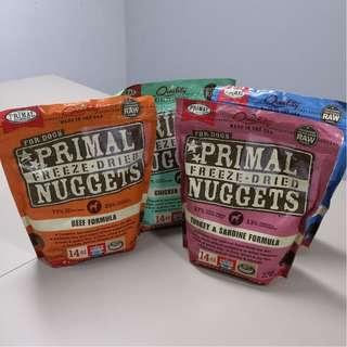 Freeze Dried Nuggets Dog Food