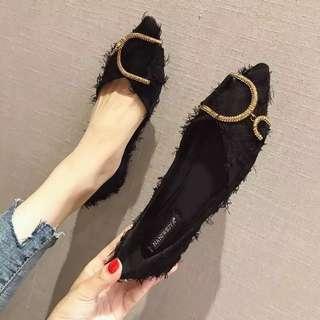 女神平底鞋