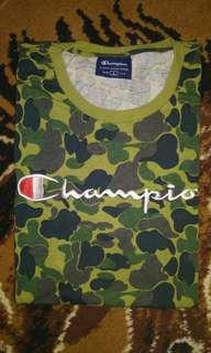 Champion Camo Graphic Tee