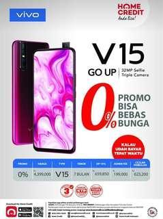 Kredit Vivo V15 bunga 0%