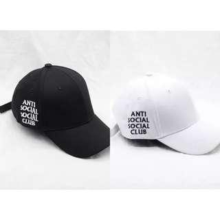 🚚 ASSC Anti Social Social Club Tumblr Baseball Cap