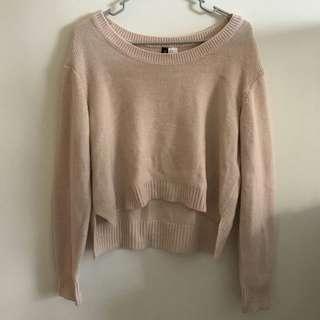 🚚 H&M 柔軟❤ 針織上衣 基本款 casual top sweater